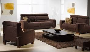Brown Couch Living Room Ideas by Brown Sofa And Rug In Contemporary Living Room Home Interiors