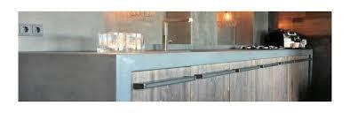 sets beton cire küche harmony béton