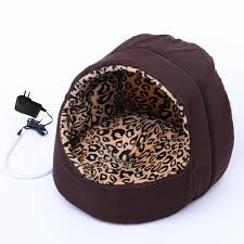Kh Thermo Kitty Heated Cat Bed by Amazon Com Pawhut 24