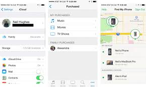 How to start an iOS 8 Family Sharing account to share apps music