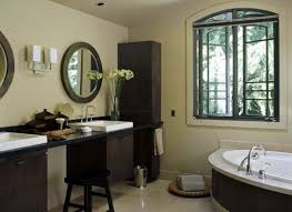 Small Bathroom Vanities With Makeup Area by Decorating Bath Vanities Traditional Home