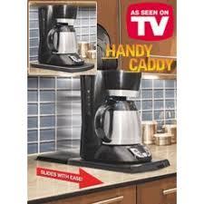 Coffee Maker Tray Drinker Handy Caddy Sliding Counter