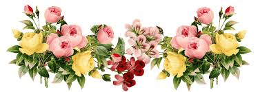 Flowers Vintage Group Transparent PNG