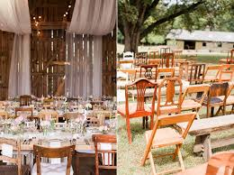 Mismatched Vintage Chairs Alternative Wedding