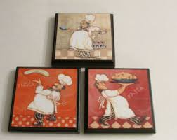 Kitchen Chef Room Wall Plaques