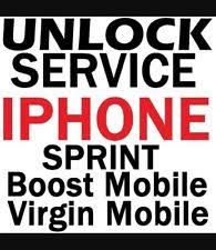 Boost Mobile Factory Unlock Service Code for iPhone SE 5s 6 6 6s