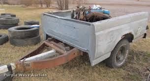 1991 Ford pickup truck bed trailer Item DT9699