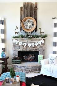 Primitive Decorating Ideas For Fireplace by 30 Best Beautiful Christmas Mantel Decorating Ideas Images On