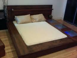 Queen Bed Platform Ikea Queen Bed Frame Solid Wood With Headboard