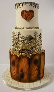 Rustic Wedding Cake By Nadia