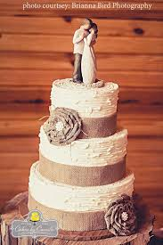 Best 25 Burlap Wedding Cakes Ideas On Pinterest Cake