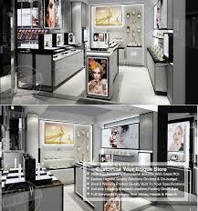 Unique Display Showcase Logo Design For Perfume Shop