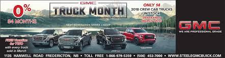 100 Atlantic Truck Sales Steele GMC Buick In Fredericton A Gagetown Dealership Alternative