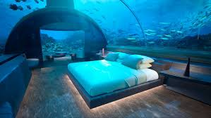 schlafen bei den fischen unterwassersuite auf den malediven