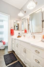 Trough Sink Vanity With Two Faucets by Trough Bathroom Sink With Two Faucets Niavisdesign