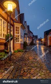100 Small Beautiful Houses Alley Row Old Stock Photo Edit Now