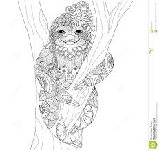 Royalty Free Vector Download Sloth Stock