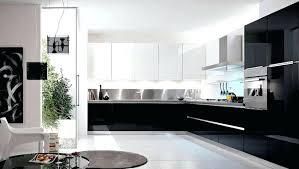 cuisine blanche et modele cuisine noir et blanc modele cuisine blanc laque modele