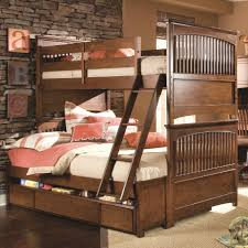 Atlantic Bedding And Furniture Fayetteville Nc by Lea Industries Elite Crossover Twin Over Full Bunk Bed With Dual