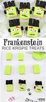 Pinterest Rice Krispie Halloween Treats by Frankenstein Rice Krispies Treats