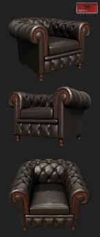 Leather ArmChair By Sasuki | 3DOcean Leather Armchairs Pair Of Retro For Sale 30 Ideas Vintage Armchairs Chairs Bath Sofas Bedrooms Decorative Armchair Sale Swivel Accent Chair Sofa Dazzling Antique Button Back Danish Leather Armchair Ldon Home Decor Cool Reclinable Combine With Recliner Room And Living Rooms Fniture Wingback For Wing Backed Small Comfortable Comfy Interior Lawrahetcom