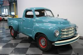 1953 Studebaker Pickup | Streetside Classics - The Nation's Trusted ... 1953 Studebaker 2r5 Pickup Restored Cars For Sale Antique Streetside Classics The Nations Trusted This 54 Convertible Reveals What Could Have Been Premier Auction Custom Truck With A Navistar Diesel Inline Vintage Stock Photos Studebaker Dually Stake Truck 53st7812d Desert Valley Auto Parts Hemmings Find Of The Day 1950 2r10 Pick Daily For Classiccarscom Cc687991 Studebakerpickup Gallery