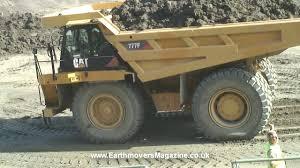 100 Uke Truck 180tonne Cat 777F Dump Truck Emergency Stop YouTube