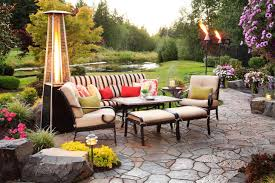 Living Accents Patio Heater by Photos Alderwood Landscaping Hgtv