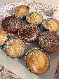 nougat und weiße schokolade muffins aus dem thermomix