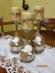 Diy Candles Ideas Wine Glass Candle Holder Twine Wrapped Read More