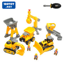 100 Caterpillar Dump Truck Toy USD 10232 CAT New Childrens Series Disassembly Truck Toy