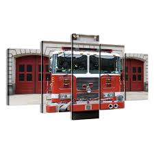 Firetruck Engine 5 Piece Canvas Wall Art - Vigor And Whim Wall Art For Kids 468 Best Transportation Images On Pinterest Babies Busted Button Where Creativity And Add Meeton A Blind Date Elegant Fire Truck 53 With Additional Johnny Cash Beautiful Metal New York City Skyline 57 About Remodel Perfect Homegoods 75 For Your With Characters Lego Undcover Patent Aerial 1940 Design By Jj Grybos Print 1963 Hose Cabinet Poster House Luxury School Of Fish 66