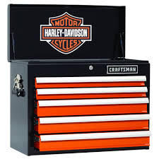 craftsman 113651 harley davidson 5 drawer top chest sears