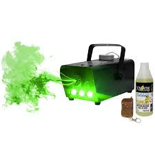 technical pro 500 watt led fog machine with wireless remote and