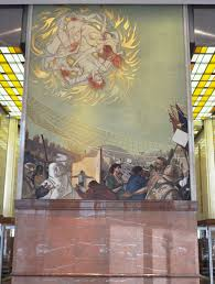 Denver Airport Murals Conspiracy Theory by Murals At Bank Of America Charlotte Nc More Revealing Than Those