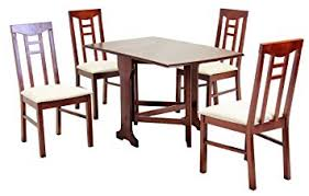 Liverpool Dining Set Room Table Chair Solid Rubberwood 260W