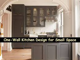 e Wall Kitchen Design for Small Space Bahay OFW