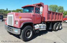 100 Pink Dump Truck 1987 Mack RS686LS Dump Truck Item DA1185 SOLD September