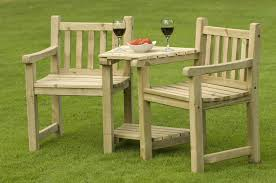 Garden Bench And Seat Pads Wooden Outside Table Outdoor Stools Furniture Stain 2