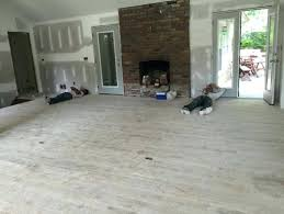 Light Gray Wood Floors Hardwood I Want A Distressed Stain And My Contractor Cannot