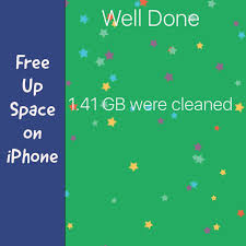 Magic Cleaner Clears Cache & Free up Storage on iPhone iPad iPod