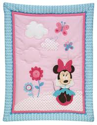 Minnie Mouse Queen Bedding by Minnie Mouse Happy Day 3 Piece Crib Set Disney Baby
