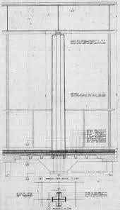 100 Barcelona Pavilion Elevation El Ltimo Legado De Mies Neue Nationalgalerie Architectural
