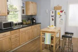 what colors go with light colored oak cabinets home guides sf
