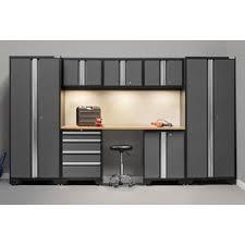 Sterilite 2 Shelf Storage Cabinet 2 Pack by Garage Storage Cabinets U0026 Shelves You U0027ll Love Wayfair