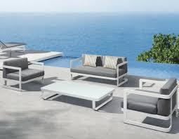 canapé de jardin design stunning salon de jardin design gris photos amazing house design
