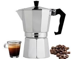 VonShef 6 Cup Italian Espresso Coffee Maker Stove Top Moka Macchinetta