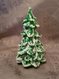 Image Is Loading Small Vintage Handpainted Handmade Ceramic Christmas Tree