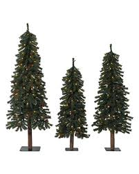 9 Ft Slim Christmas Tree Prelit by Live Christmas Trees Potted Christmas Lights Decoration