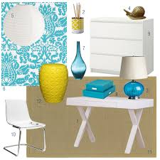 World Market Josephine Desk Green by I Heart Interiors More Or Less For Even Less